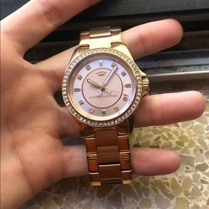 juicy couture rose gold watch